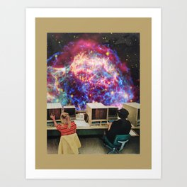 Women and Space Art Print