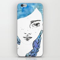 gemma correll iPhone & iPod Skins featuring Gemma by Jessee Fish