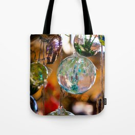 in that orb was a story of color and fire Tote Bag