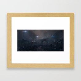 Underwater station Framed Art Print