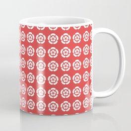 Oda Clan Samurai Pattern Coffee Mug
