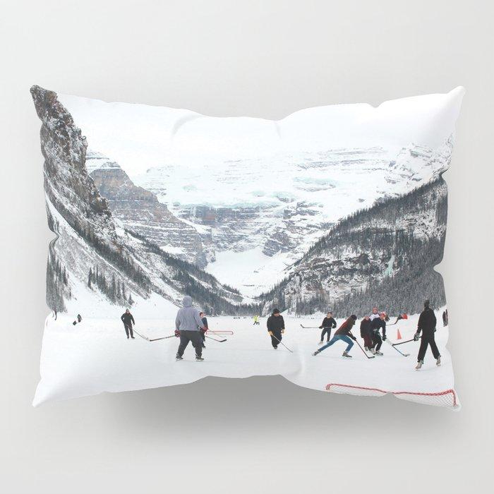 Winter in Lake Louise Pillow Sham