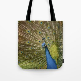 Peacock. Tote Bag
