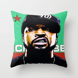 HIP-HOP ICONS: O'SHEA Throw Pillow