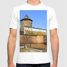 Handwerkerhof Alt Nurmeberg Mens Fitted Tee MEDIUM White