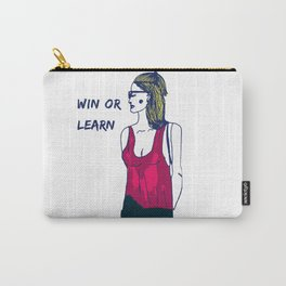 Win or Learn Carry-All Pouch