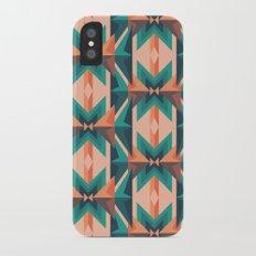 Low Poly Desert Bloom iPhone X Slim Case