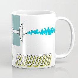 Green Raygun 02 Coffee Mug
