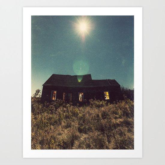 Shining Moon Art Print