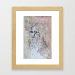 De Alma Anciana Framed Art Print