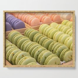 Delicious Macaroons Serving Tray