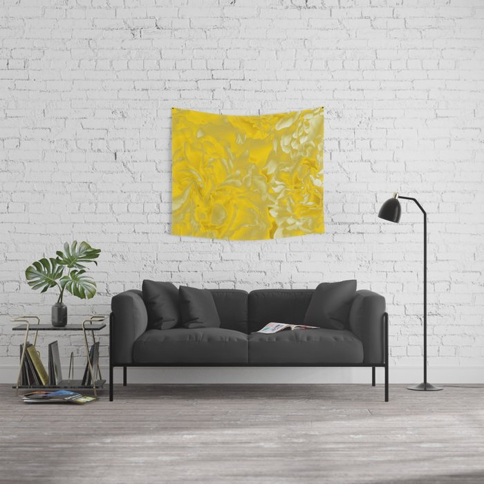 Golden/Yellow Fancy Pattern #decor #society6 #buyart Wall Tapestry ...