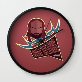 Bat'leths of Kronos Wall Clock
