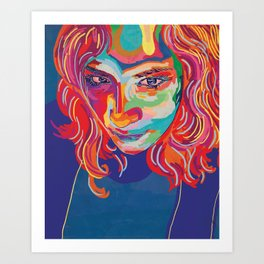 self portrait n1 Art Print
