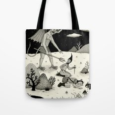 A Diabolical Act of Persuasion Tote Bag