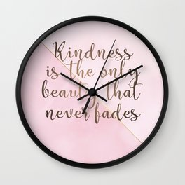 AFE Kindness Wall Clock