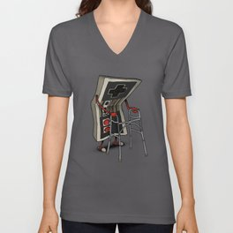 Old Gamer Unisex V-Neck