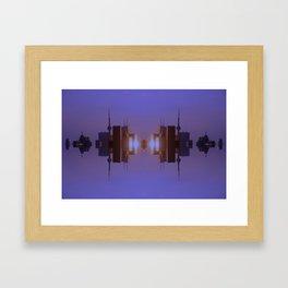 Skyline Symmetry in Toronto, Ontario  Framed Art Print