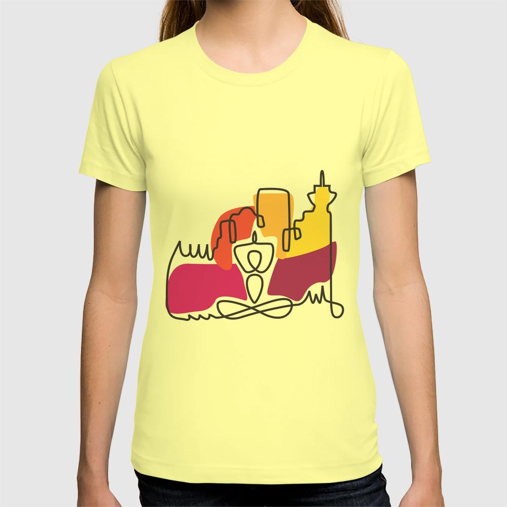 Urban Yoga Graphic T Shirt By Jillhopejohnson Society6
