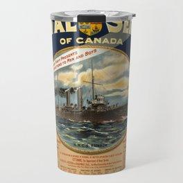 Vintage poster - Naval Service of Canada Travel Mug