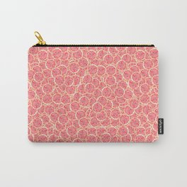 Grapefruit Slice Pattern Carry-All Pouch