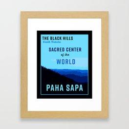Black Hills South Dakota Framed Art Print