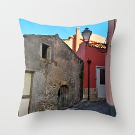 Sicilian Medieval Village (The Godfather/ Francis Ford Coppola/1971) Throw Pillow