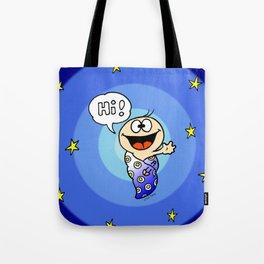 """Baby """"Hi!"""" Tote Bag"""