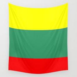 Flag of Lithuania – Lietuva,Lithuanian,Lietuvos,vilnius,kaunas,baltic,viking. Wall Tapestry