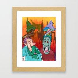 Naturally Friendly Framed Art Print