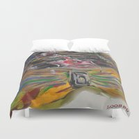 clown Duvet Covers featuring CLOWN  by Loosso