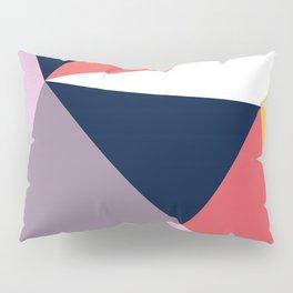 Modern Poetic Geometry Pillow Sham