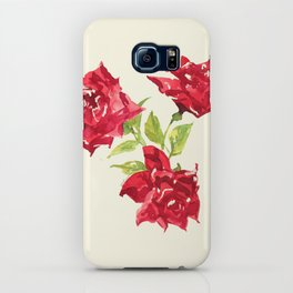 Three Red Roses iPhone Case