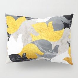 Heaven of Doves (Gold) Pillow Sham