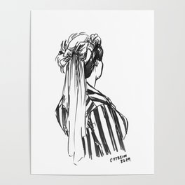 Hat Ribbons Poster