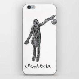 Chewblocka! iPhone Skin