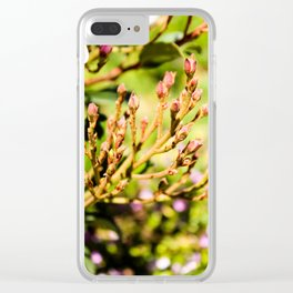 Petal Buds Clear iPhone Case