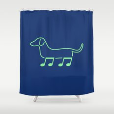 Foot Note II Shower Curtain