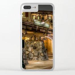 Buena Vista Street California Adventure Clear iPhone Case