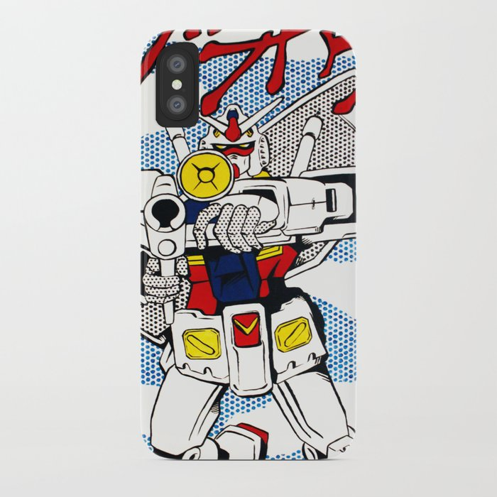 low priced 67f88 1f173 POP FUSION - R-78 Gundam iPhone Case by ateliermuse