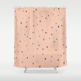 Polka Dot Candies Shower Curtain