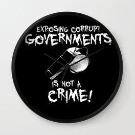 Whistleblower Wall Clock
