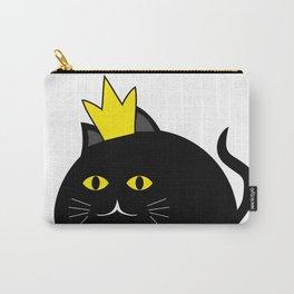 Little princess cat #society6 #decor #buyart #artprint Carry-All Pouch