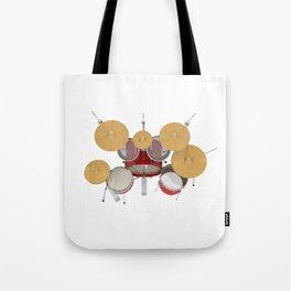 Red Drum Kit Tote Bag