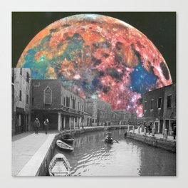 Surreal Night Canvas Print
