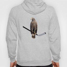 Polyhawk On Black Hoody