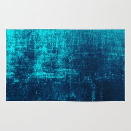 Sea Turquoise Paper Rug