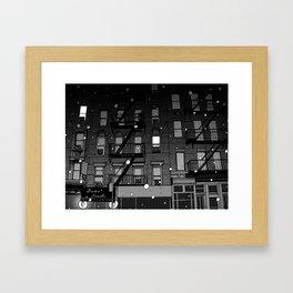 street 1 Framed Art Print