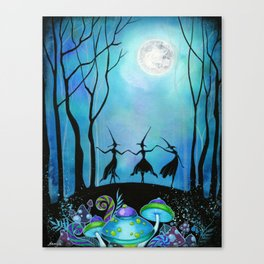 Halloween Dance Canvas Print
