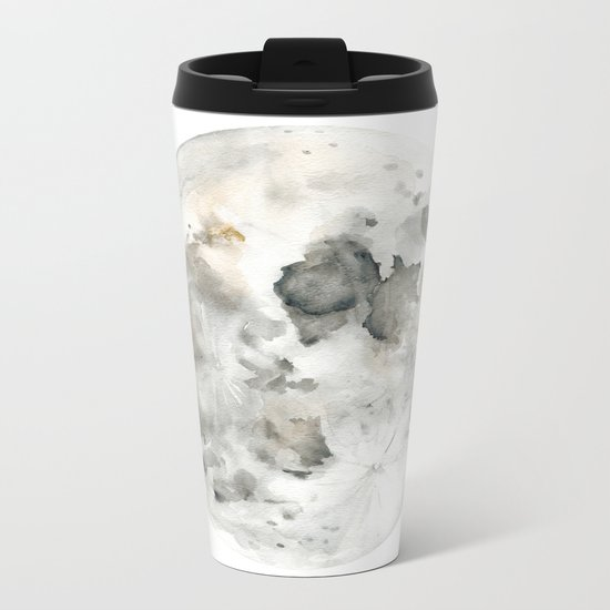 Bare Moon Metal Travel Mug